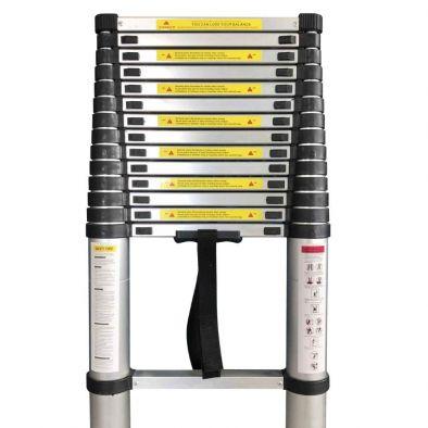 BKR® Aluminium Telescopic Ladder (5.5 mtr)