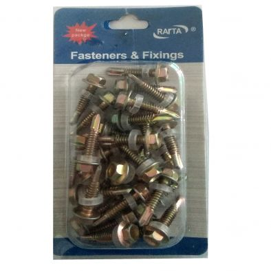 Assorted Steel Screw -30 Pcs/4.8 x 25 cms-HM0149
