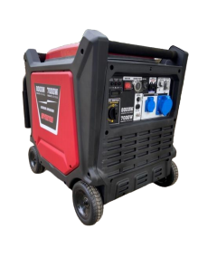 BKR® Super Silent 8 KVA Portable Generator