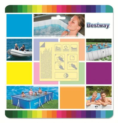 Bestway Underwater Adhesive Repair Patches – HM0466
