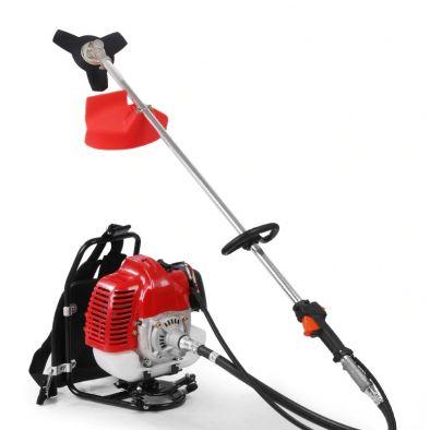 BKR Honda Powered Back Pack brush cutter with 4 stroke engine