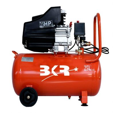 BKR® Iron Portable Air Compressor 25 Liter with Powerful 2.5 HP Induction Motor  WS0523