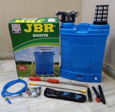 BKR®️ Zira Premium Quality Double MOTOR Agricultural Knapsack Sprayer 20L