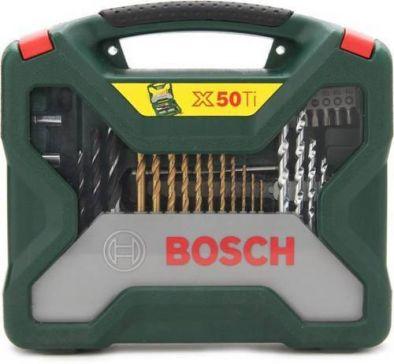 BOSCH 50 PCS X-LINE DRILL KIT ACCESSORY