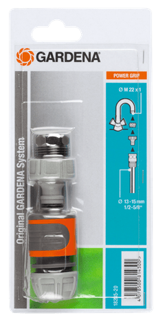 GARDENA 18285-20 Rapid Connector Set Tap to hose