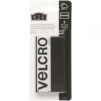"""VELCRO(R) Brand Industrial Strength Extreme Fasteners 4""""""""X2""""""""-Black - HM0059"""