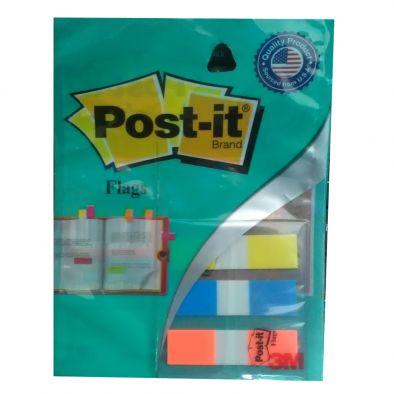 3 COLOURS POST-IT FLAGS -12.5 MM SCOTCH-HM0324
