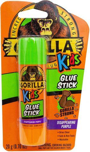 Gorilla School Glue Stick 20G 6PC Display-STAT