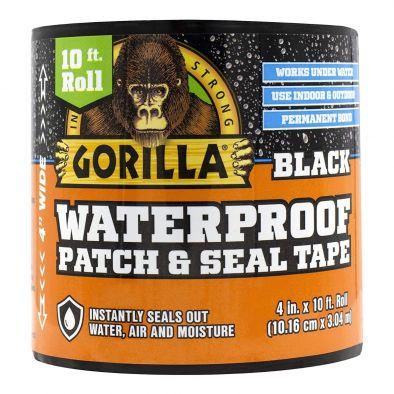 "Gorilla Waterproof Patch & Seal Tape, 4""*10"", White"