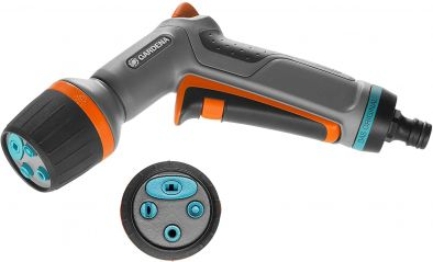 GARDENA Comfort Cleaning Nozzle eco Pulse: Spray Gun for high-performance (18304-20)