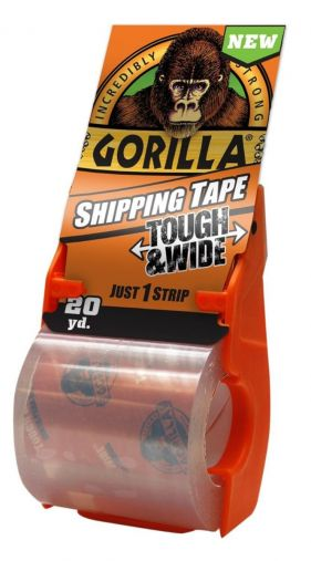 Gorilla Packing Tape With Dispenser 72 mm X 18.28m