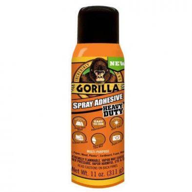 Gorilla Multi-Purpose Spray Adhesive