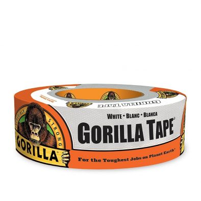 gorilla strong tape white 30 yd