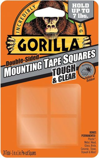 Gorilla Tough & Clear Mounting Squares