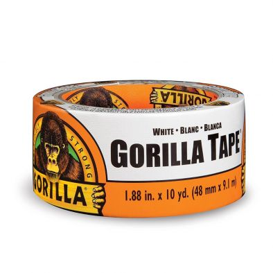 Gorilla Strong Duct Tape White