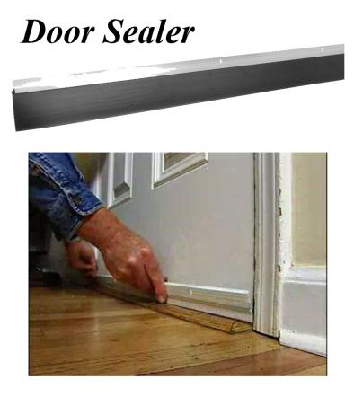 BKR  DOOR SEALER - PVC STRIP TO STOP INSECTS, ETC