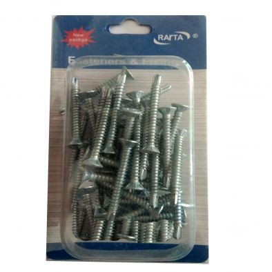 Assorted Steel Screw -50 pcs/ Mix-HM0145