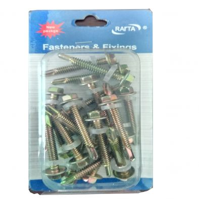 Assorted Steel Screw -20 Pcs/4.8 x 40 cms-HM0148