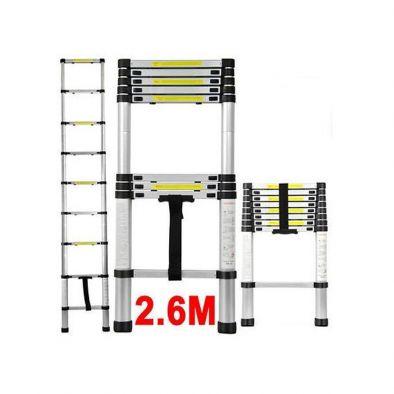Telescopic Foldable E Ladder 2.6 Meter-HM0188