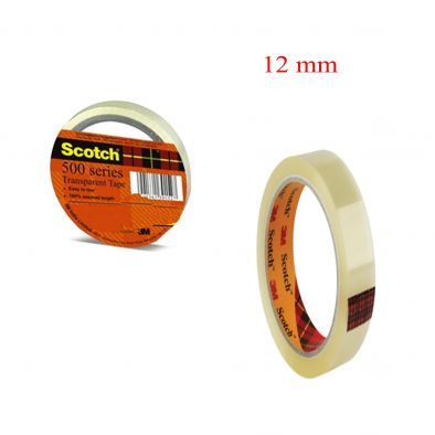 TRANSPARENT TAPE- 3M- 12 MM SCOTCH-HM0271
