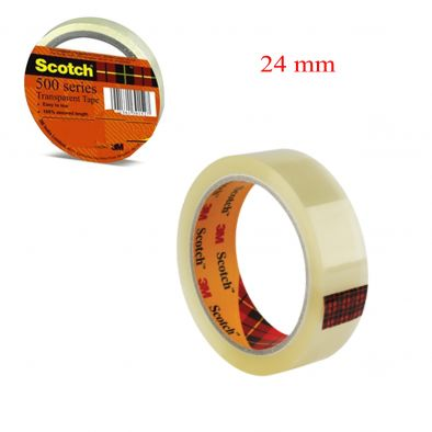 TRANSPARENT TAPE- 3M- 24 MM SCOTCH-HM0272