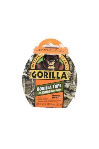 Gorilla Camo Duct Tape 1.88in x 9yd roll
