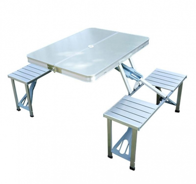 Folding Table Portable Picnic Party Dining Camp Tables Indoor Outdoor – HM0407
