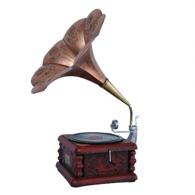 BKR® Antique Vintage Gramophone  - HM0476