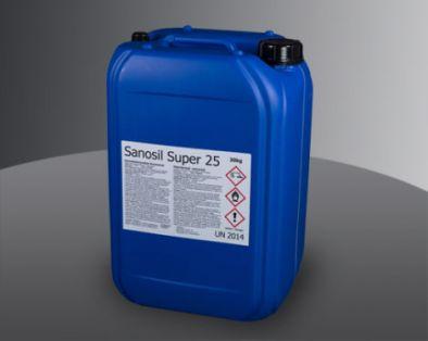 Sanosil Super 25 Ecological Disinfectant Chlorine Free 30 Kg -HM0577