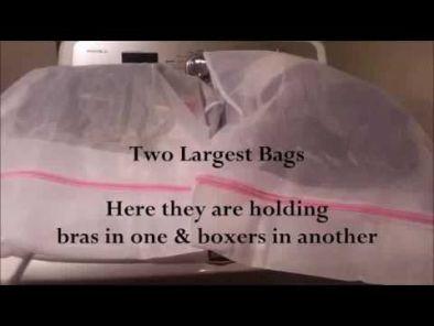 BKR® Zippered Protective Mesh Net Washing Machine Laundry Bag (40 x 50cm) - 2 Pieces - HM0176
