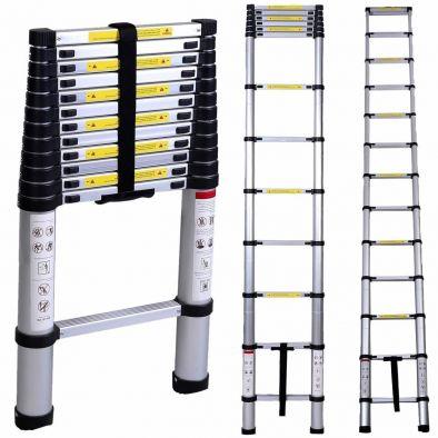 BKR® Multi-Purpose Aluminum Telescopic Extension Step Ladder (3.2m/10.5')