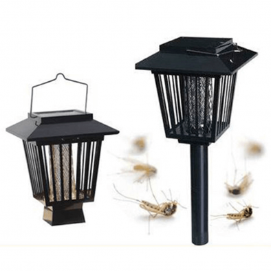Solar Powered Outside Mosquito Insect Killer Bug zappers