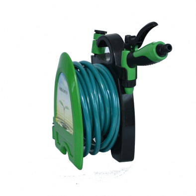 BKR® 10 Metre Mini Garden Watering Hose Pipe Reel With Spray – LG0323