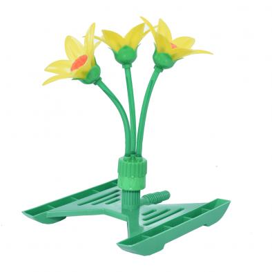 BKR® Plastic garden decorative rotary flower sprinkler with base – LG0337