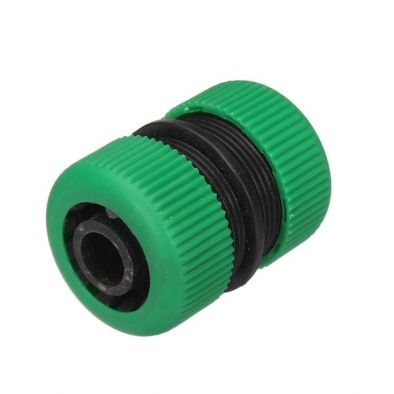 3/4 INCH PLASTIC WATER HOSE CONNECTOR GARDEN WATER PIPE RESTORE JOINT - LG0348
