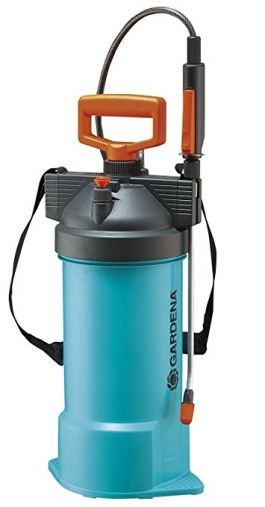 Gardena 869 5-Liter Handheld Garden Pressure Sprayer With Shoulder Strap - LG0398