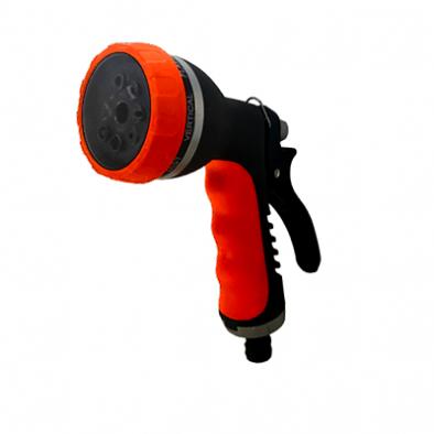 BKR® Spray Gun 8 Function Heavy Duty With Soft Handle Grip  LG0659