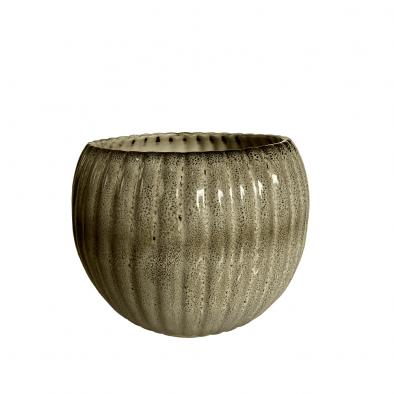 BKR® Round Ceramic Planter LG0702