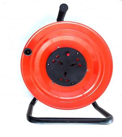Electric Extension Cord Hose Reel 50 Mtr