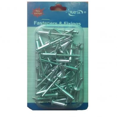 Assorted Rivets -50 Pcs/4 x 10 cms-HM0144