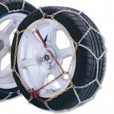 BKR® High Quality Snow Chain For SUVs Pack Of 2 From Tyre Size 215X15 to 235/60X16