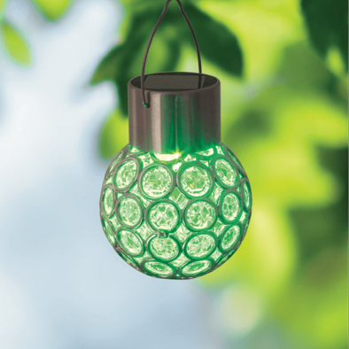 Solar Colour Changing Crystal Ball Light