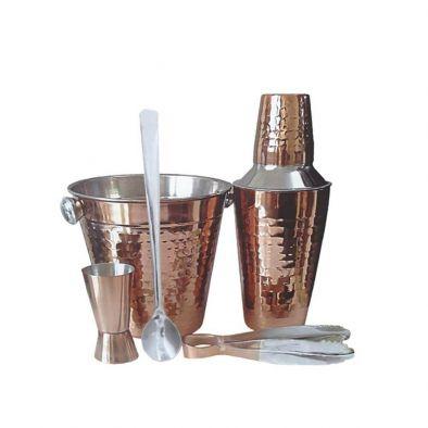 BKR® Stainless Steel Bar Accessories 5 Pieces Set