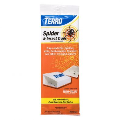 Terro T3206 Spider & Insect Trap (4 Pack) HM0611