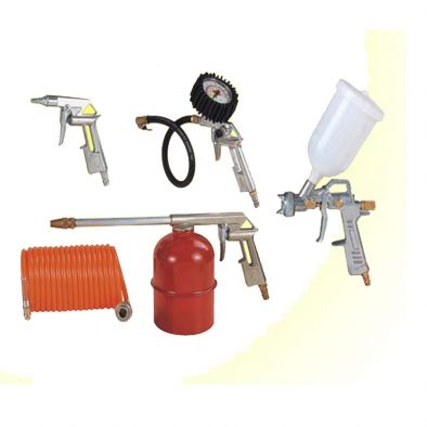 Compressor Kit 5-IN-1 For Paint Air, Washing - WS0017