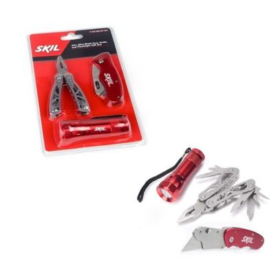 SKIL 3 Pcs Flashlight Tool Set - WS0221