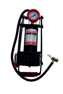 Foot Air Pump for Bicycles, Motorcycles, Cars & Toys