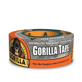 Gorilla Strong Duct Tape 1.88 inch x 12 yard Silver  - HM0240