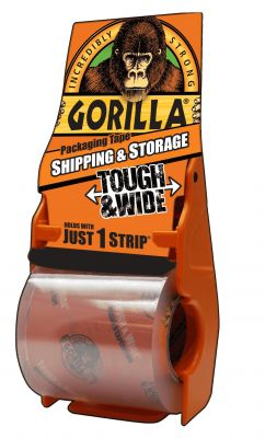 Gorilla Packing Tape With Dispenser 72 mm X 35 yd HM0366