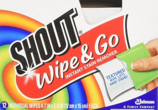Shout Wipe & Go Instant Stain Remover